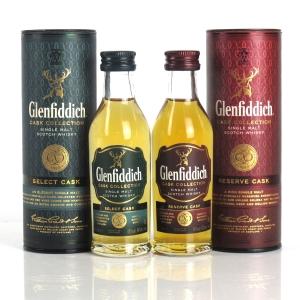 Glenfiddich Cask Collection 2 x 5cl