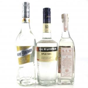 Triple Sec Liqueur Selection x 3