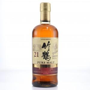 Taketsuru 21 Year Old Pure Malt Non-Chill Filtered 2014 / 80th Anniversary