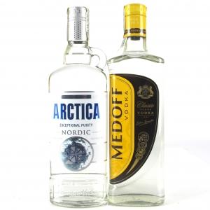 Ukranian Vodka Selection 2 x 50cl