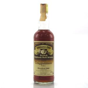 Cragganmore 1968 Gordon MacPhail 12 Year Old / Pinerolo Import