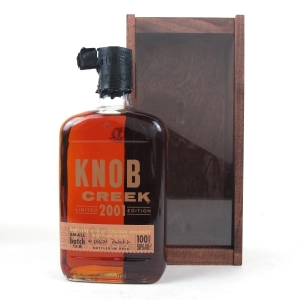 Knob Creek 2001 Limited Edition 100 Proof Batch #2