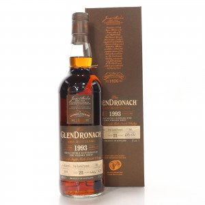 Glendronach 1993 Single Cask 25 Year Old #395 / The Whisky Shop