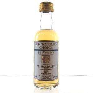 St Magdalene 1981 Gordon and MacPhail Miniature 5cl