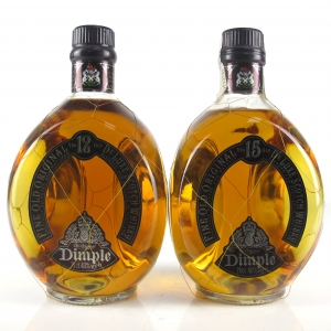 Dimple 12 Year Old 75cl & 15 Year Old
