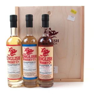 The English Whisky Co. Gift Set / 3 X 20cl