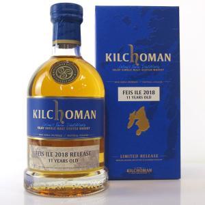 Kilchoman 2007 Bourbon Barrel 11 Year Old with Festival Programme / Feis Ile 2018