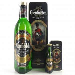 Glenfiddich Clans of the Highlands / Clan Montgomerie / Includes Miniature 5cl