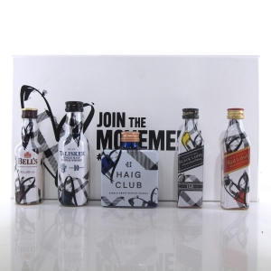 Love Scotch Miniature Gift Set 5 x 5cl