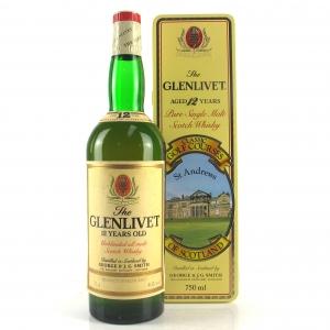 Glenlivet 12 Year Old St Andrews Golf Course Tin 75cl
