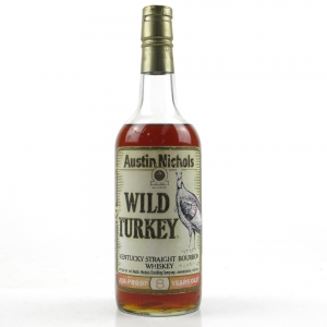 Wild Turkey 101 Proof 8 Year Old 1980s