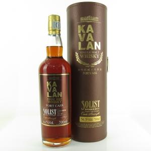 Kavalan Solist Cask Strength Port Cask / 56.3%