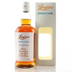 Longrow 2001 Single Cask 16 Year Old / UK Exclusive