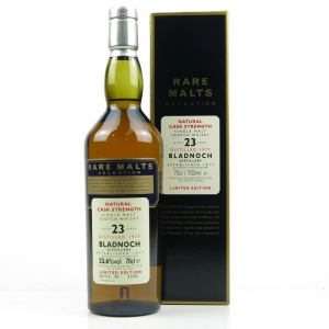 Bladnoch 1977 Rare Malt 23 Year Old / 53.6%