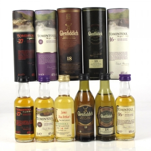 Miscellaneous Speyside Single Malts 6 x 5cl