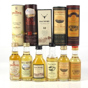 Miscellaneous Highland Single Malt Selection 6 x 5cl