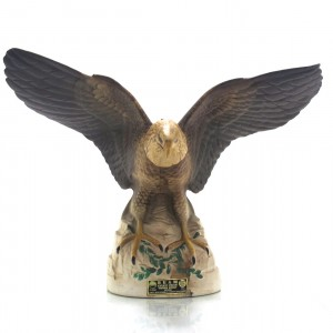 Jim Beam 100 Months Old Eagle Decanter 1985