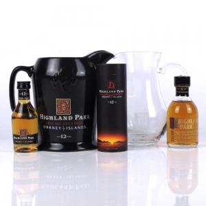 Highland Park Single Malt Selection / Including branded Water Jugs