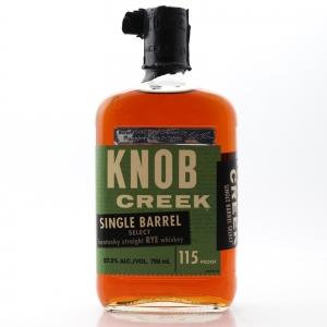Knob Creek Single Barrel Rye #6443 / PlumpJack