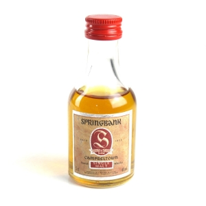Springbank 25 Year Old 1990s 5cl Miniature