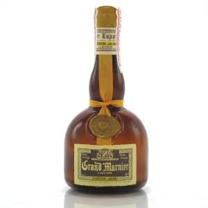 Grand Marnier Cordon Jaune Half Bottle 1970s