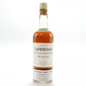Laphroaig 10 Year Old 1968 / Carlton Import, US