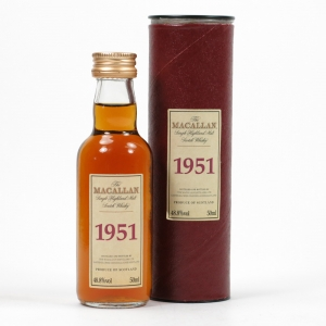 Macallan 1951 Select Reserve Miniature Front