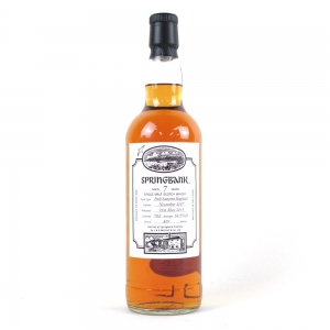 Springbank 2007 Single Cask / Fresh Sauternes Hogshead