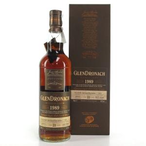 Glendronach 1989 Single Cask 23 Year Old #5470