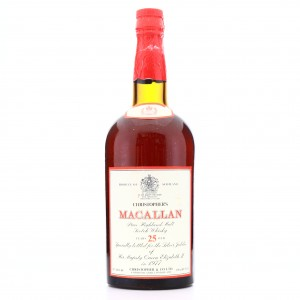 Macallan 25 Year Old Christopher & Co 1.5 Litre / Silver Jubilee 1977
