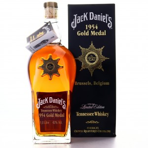 Jack Daniel's Gold Medal 6th Release 1954 Brussels Star of Excellence