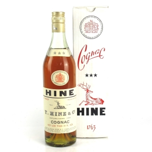 Hine Three Star Cognac 1970s