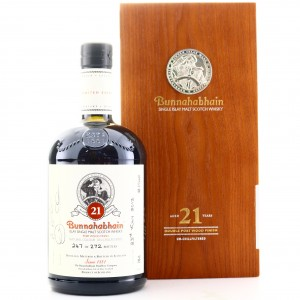 Bunnahabhain 21 Year Old Double Port Wood Finish