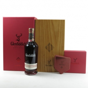 Glenfiddich 1994 Single Cask 20 Year Old / Sherry Oak / Includes Clay Stand