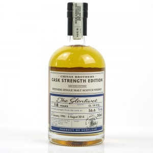 Glenlivet 1996 18 Year Old Cask Strength Batch #14