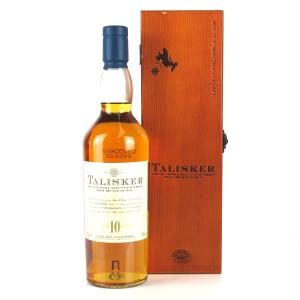 Talisker 10 Year Old / Wooden Box
