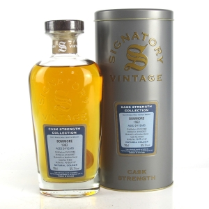 Bowmore 1982 Signatory Vintage 24 Year Old Cask Strength