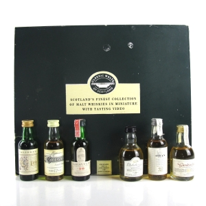 Classic Malt Gift Set 6 x 5cl / Including VHS
