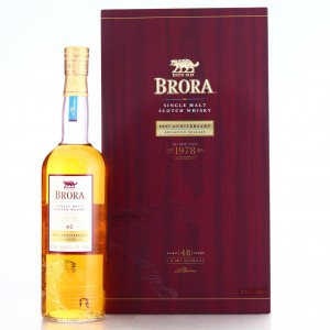 Brora 1978 40 Year Old / 200th Anniversary