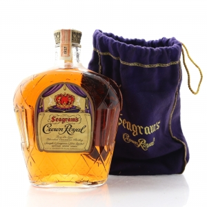 Seagram's Crown Royal 1957 Canadian Whisky