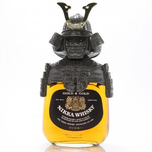 Nikka Gold and Gold Samurai 75cl