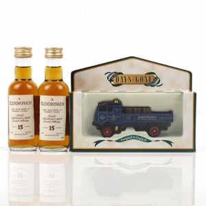 Glendronach Days Gone Model and 15 Year Old Miniatures 2 x 5cl