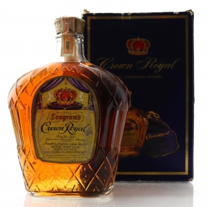 Seagram's Crown Royal 1970 Canadian Whisky