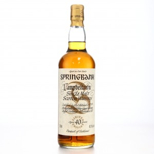 Springbank 40 Year Old Millennium Limited Edition / US Import