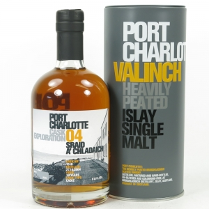 Port Charlotte Valinch Exploration Cask #04 / Sraid A'Chladaich Front