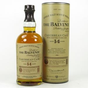 Balvenie 14 Year Old Caribbean Cask Front