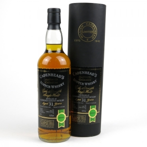 Glenfiddich 1973 Cadenhead's 31 Year Old