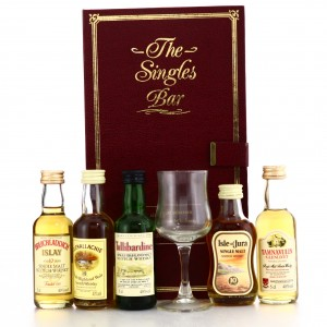 The Singles Bar Miniatures 5 x 5cl / Invergordon Distillers