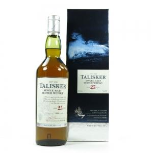 Talisker 25 Year Old 2014 Release Front