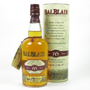 Balblair 16 Year Old Front